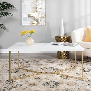 Silver Orchid Ipsen Modern Coffee Table