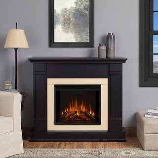 Silverton Electric Fireplace Black - 48L x 13W x 41H