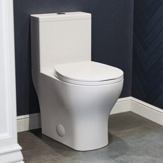 "Sublime II Compact 24"" Length Two Piece Toilet Dual Flush 0.8/1.28 GPF"