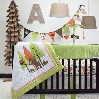 Charming Forest 6-piece Crib Bedding Set by Pam Grace Creations