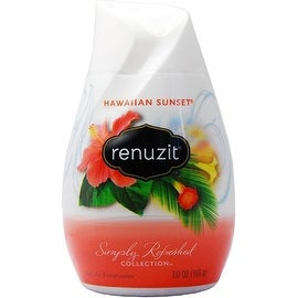Renuzit Simply Refreshed Collection Gel Air Freshener, Hawaiian Sunset 7 oz