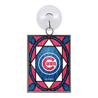 Chicago Cubs Stained Glass Ornament & Sun Catcher