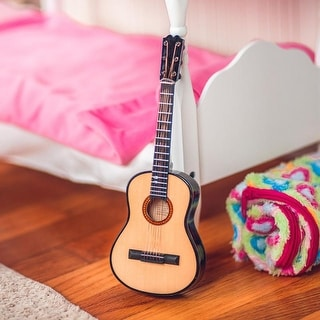 Realistic Wooden Guitar, Accessory Sized For 18 Inch American Girl Dolls