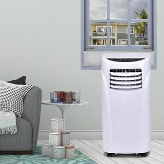 Costway Portable Air Conditioner & Dehumidifier Function Remote w/