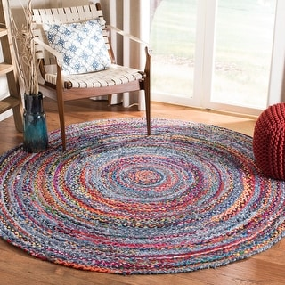 Safavieh Handmade Braided Gretta Country Cotton Rug