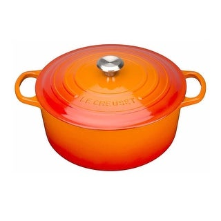 Le Creuset Signature Enameled Cast-Iron 3-1/2-Quart Round Dutch Oven