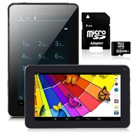 """Indigi® 7.0"""" Dual-Core 2-in-1 SmartPhone + TabletPC w/ Android 4.2 JellyBean Dual-Cameras + WiFi + 32gb microSD Included"""