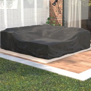 Moda Square Furniture Waterproof Cover Outdoor Sofa Set Cover
