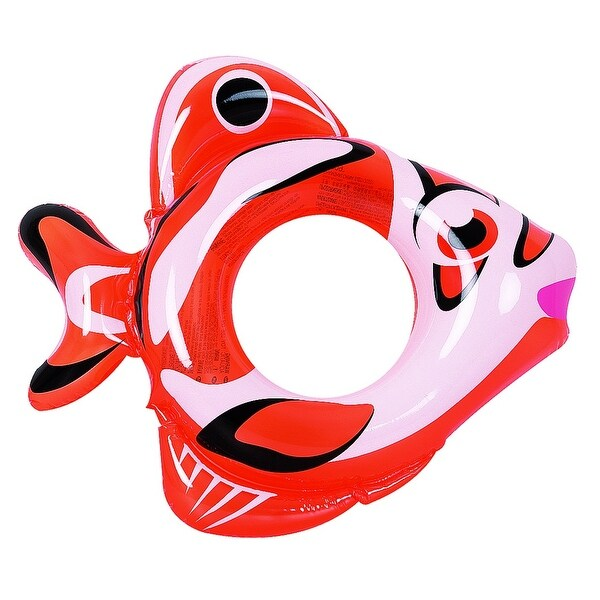 34 orange and white inflatable fish children 39 s swimming for Your inner fish summary
