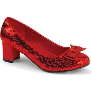 Funtasma Women's Dorothy 01 Red Sequins