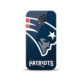 SAMSUNG GALAXY S5 NFL OVERSIZED SNAPBACK TPU CASE NEW ENGLAND PATRIOTS