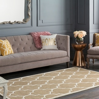 Hand-Tufted Gage Moroccan Cambridge Wool Rug