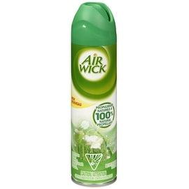 Air Wick Aerosol Spray Air Freshener, Rain Garden 8 oz