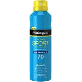Neutrogena CoolDry Sport Sunscreen Spray, SPF 70 5.5 oz