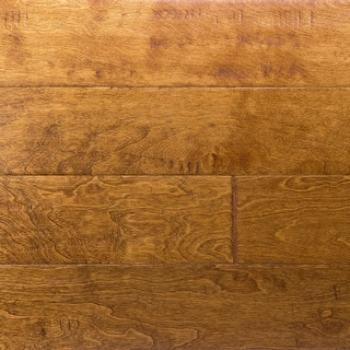 "Miseno MFLR-YELLOWSTONE-E Riverbed Engineered Hardwood Flooring - 5"" - Birch Yellowstone"