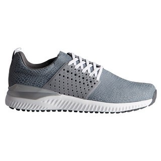 New Men's Adidas Adicross Bounce Grey/Grey/Cloud White Golf Shoes F33727
