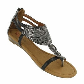 Red Circle Footwear 'Vania' Decorated Sandal