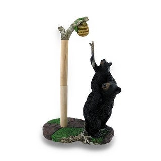 Sweet Tooth Bears Cast Resin Paper Towel Holder - 14.5 X 9 X 5.5 inches