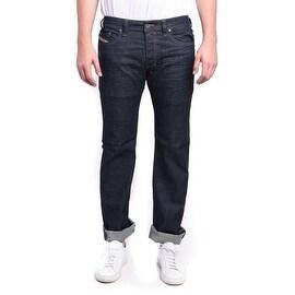 Diesel Safado Regular Slim-Straight Stretch Dark Blue Denim Jeans