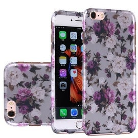 Insten Roses Hard Snap-on Rubberized Matte Case Cover For Apple iPhone 6 Plus/ 6s Plus