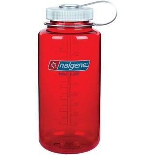 Nalgene Tritan 32-Ounce Wide Mouth Bottle, Outdoor Red