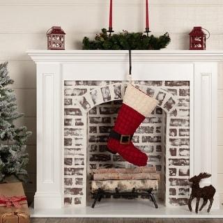 Chenille Christmas Boot Stocking 12x20 - Stocking 12x20