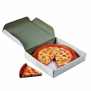Cheese Pizza with Slice & Real Pizza Box, Food Accessory for 18 Inch American Girl Dolls