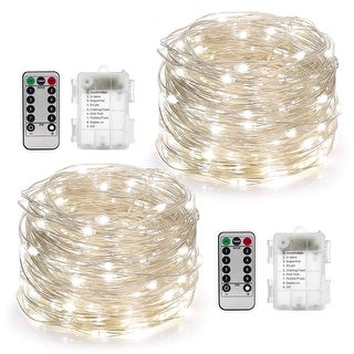 2 Set Fairy Lights Battery Operated 50LED - Medium