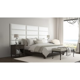 Vant Upholstered Wall Panels (Headboards) Sets of 4, Leather ...