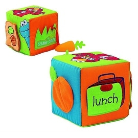 Gund Sesame Street Healthy Habits Activity Cube
