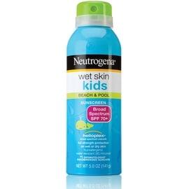 Neutrogena Wet Skin Kids Beach & Pool Sunscreen Spray SPF 70+ 5 oz