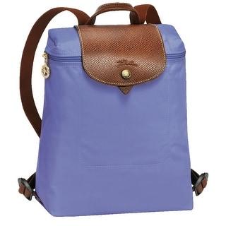 Longchamp Le Pliage Nylon and Leather Backpack