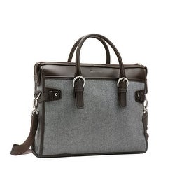 """SettonBrothers Briefcase for up to 14"""" Laptops, Grey"""