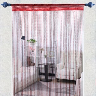 "String Curtain Fringe Panel 39"" x 79""(W*H) Backdrop Bedroom Door Window Divider - 39"" x 79"""