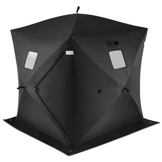 Costway 2-person Ice Fishing Shelter Tent Portable Pop Up House