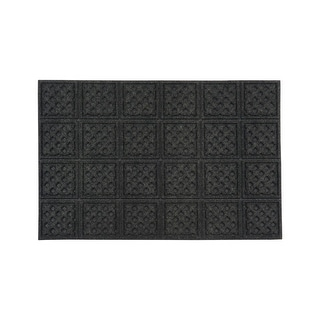 Mats Inc. Aqua Thirst Rubber Back Entrance Mat, 2' x 3'