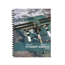 "2016-2017 Aspire Student Day Planner (8.5 x 11"") August 2016 - July 2017 Academic, Recommended [Grades 6th - 12th]"