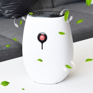 Costway Portable Mini Electric Dehumidifier Quiet Safe for Kitchen