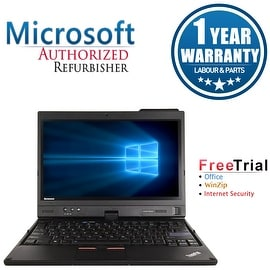 "Refurbished Lenovo ThinkPad X220T 12.5"" Laptop Intel Core I7 2620M 2.7G 4G DDR3 120G SSD Win 7 Professional 64 1 Year Warranty"