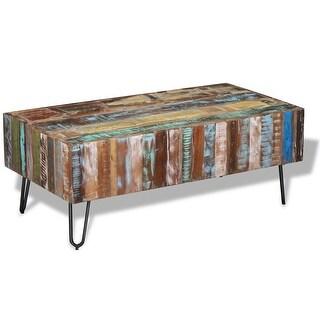 """vidaXL Coffee Table Solid Reclaimed Wood 39.4""""x19.7""""x15"""""""