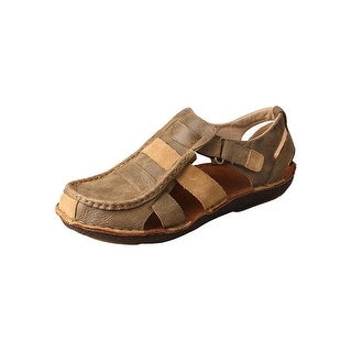 Twisted X Shoes Mens Sandals Casual Closed Toe Leather Bomber