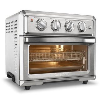 Cuisinart TOA-60 Air Fryer Toaster Oven (Silver)