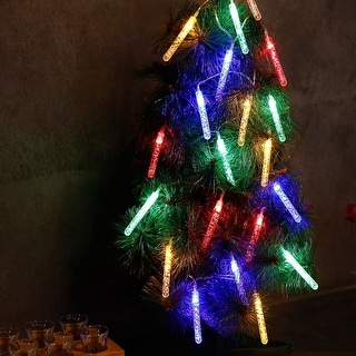 20 LED Bubble Stick String Lights Decor for Christmas Trees