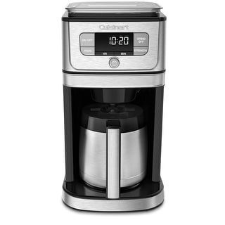 Cuisinart DGB-850 Fully Automatic Burr Grind & Brew Thermal 10 Cup Coffeemaker, Black