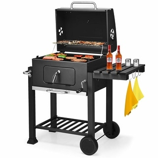 Costway Charcoal Grill Barbecue BBQ Grill Outdoor Patio Backyard