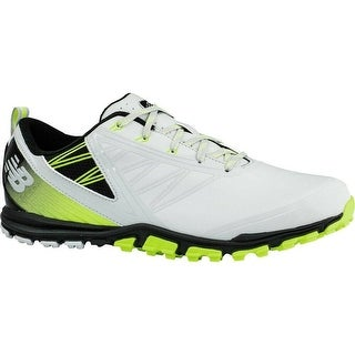 Men's New Balance Minimus SL Grey/Green Golf Shoes NBG1006GRG (MED)