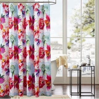 Classic Wildflower 70 x 72 in. Printed Shower Curtain