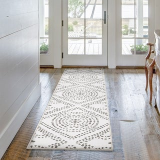 """My Texas House by Orian Saltillo Natural Runner (2' x 7'6"""") - 2' x 7'6"""""""