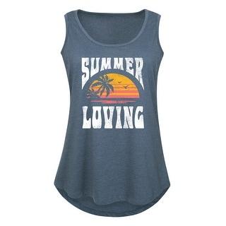 Summer Loving - Women's Plus Size Tank Top