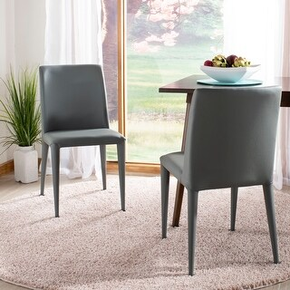"Safavieh Dining Metropolitan Garretson Grey Dining Chairs (Set of 2) - 22.5"" x 17.4"" x 33.5"""